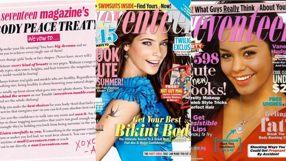 seventeen magazines new photoshop policy is the same as