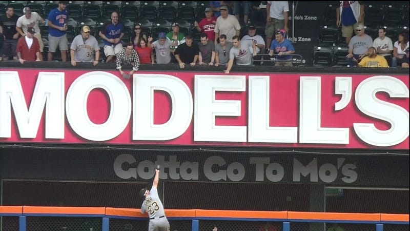 "Pirates Outfielder Travis Snider Just Made ""One Of The Best Catches You'll Ever See"""