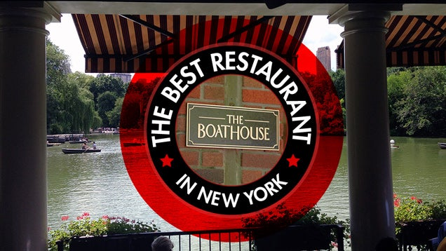 The Best Restaurant in New York Is: The Central Park Boathouse