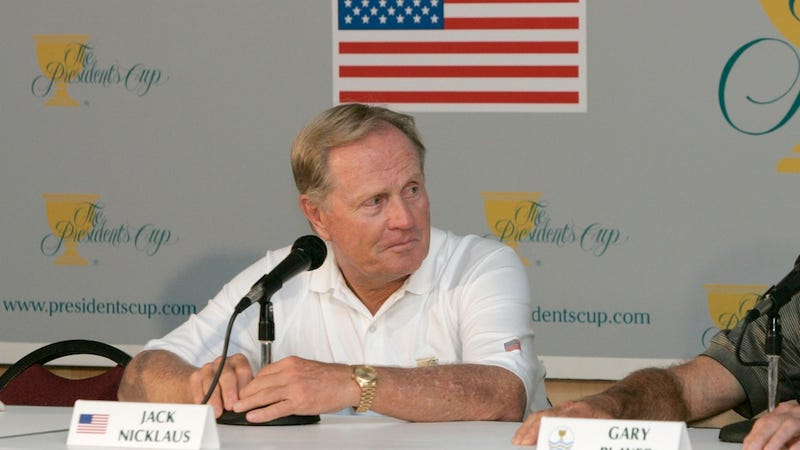 Why Did Four Congressmen Vote Against Awarding Jack Nicklaus A Congressional Gold Medal? Deadspin Investigates.