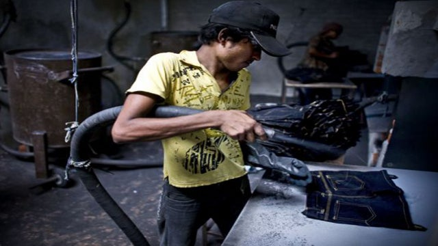 How a disease from ancient Rome made its way into your sandblasted jeans