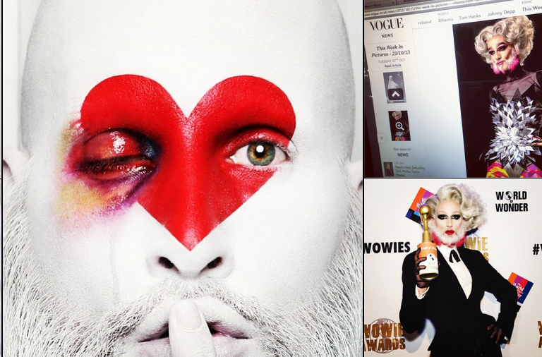 The Instagram Account of Ru Paul's Makeup Artist Will Blow Your Mind