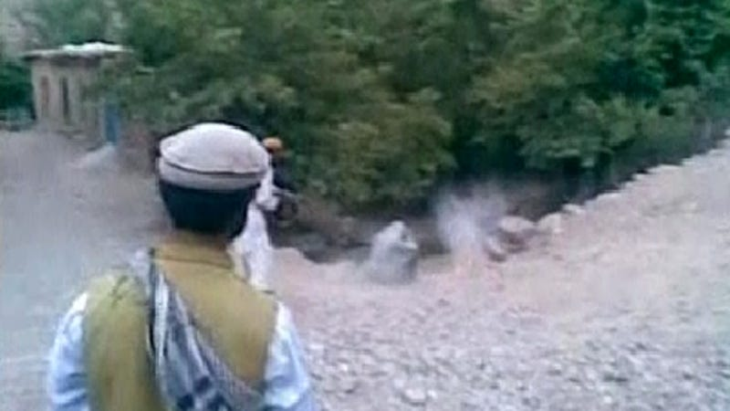 Video: Taliban Members Shoot Cowering Woman 9 Times