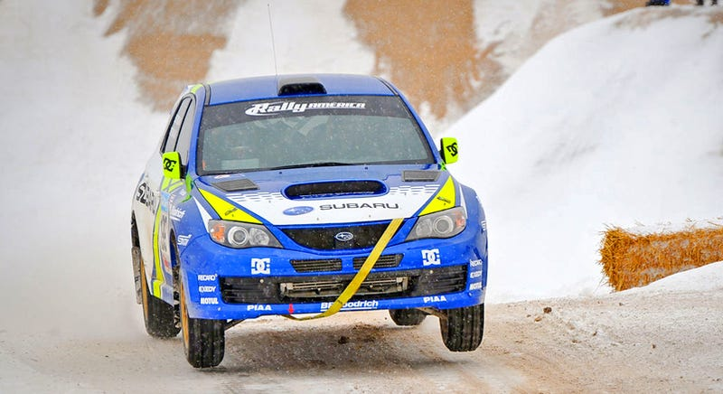 EXCLUSIVE: Sno*Drift Pastrana, Block In-Car Rally Video