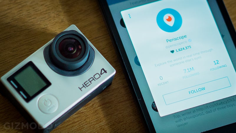 Hands On With Periscope's New GoPro Live-Streaming