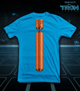 Tron T-Shirt for the Suit Types