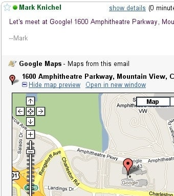 Preview Google Maps Links in Gmail