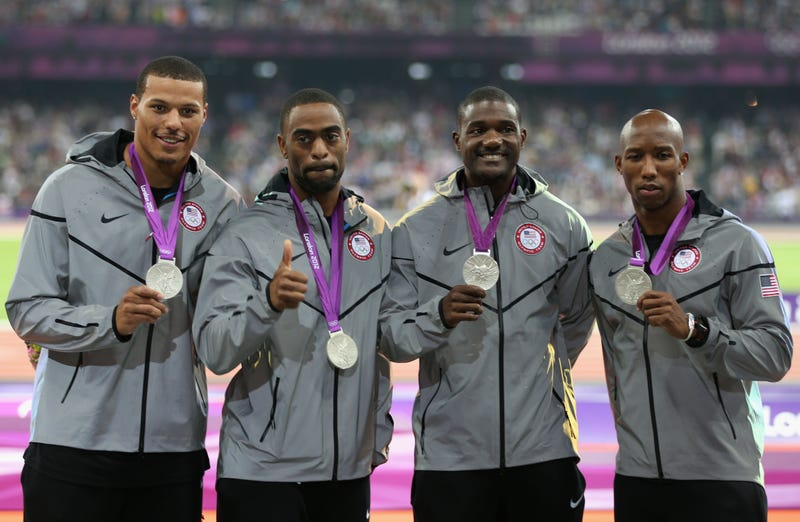 The 2012 Olympic Relay Team Just Lost Their Silver Medals