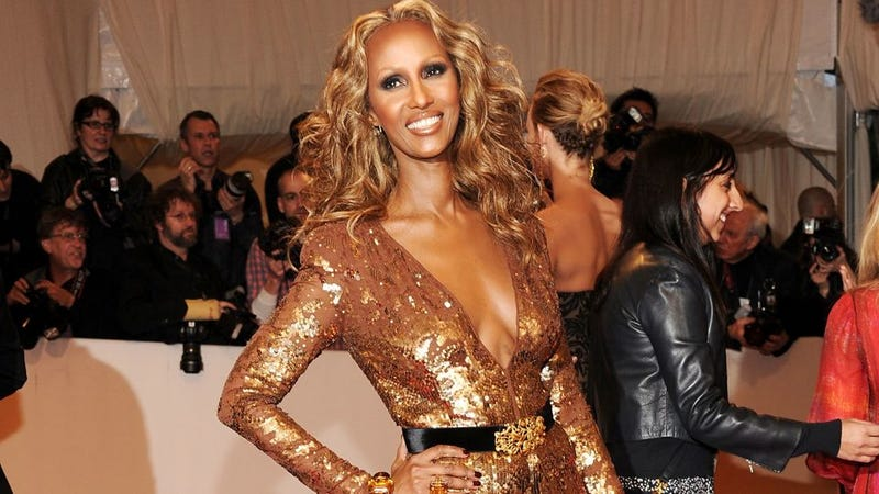 "Iman Says Italian Vogue ""Might As Well Have Called"" Those Slave Earrings ""N— Earrings"""