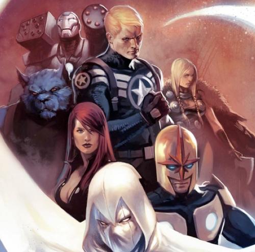 Enter the Secret Avengers (as opposed to the Public Avengers)!