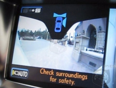 Lexus LX 570 Lets You See Around Corners With Front and Side Cameras