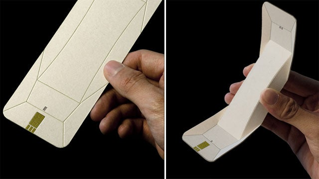 An Origami Phone You Could Actually Use