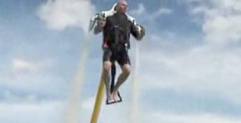Water-Powered JetLev Jetpack Would Be the Most Godly Firefighting Tool Ever