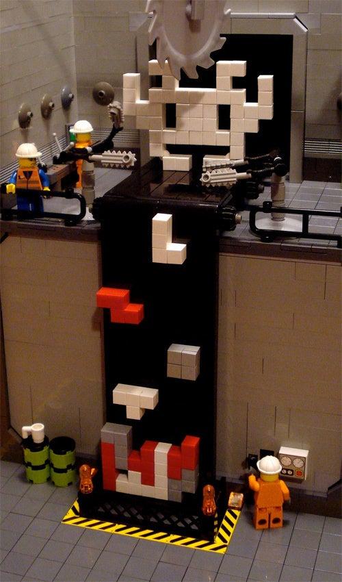 Tetris 'Sausage' Machine One Step Closer To Reality