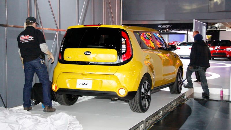 Here Are The First Shots Of The 2014 Kia Soul