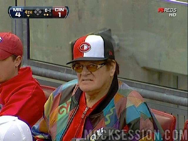 Now A Grouchy Old Lesbian, Pete Rose Returned From Arsenio Hall's Rummage Sale In Time For Opening Day