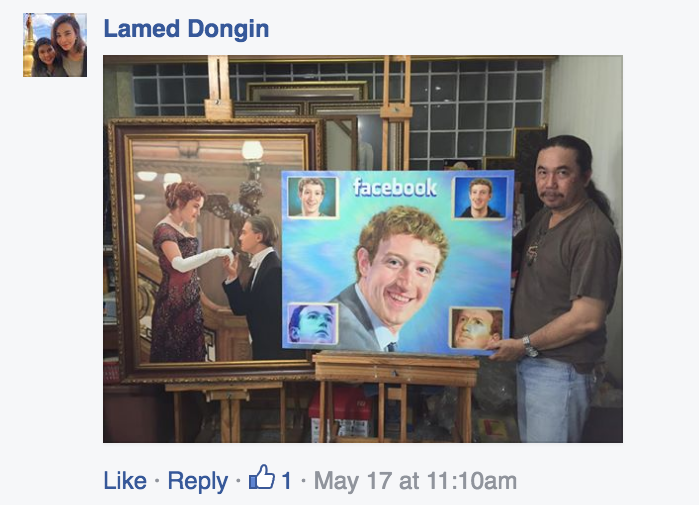 The Bizarre World of Unsolicited Mark Zuckerberg Fan Art