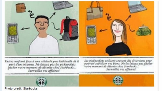 Starbucks Has a 'Racist' Poster Scandal Abroad