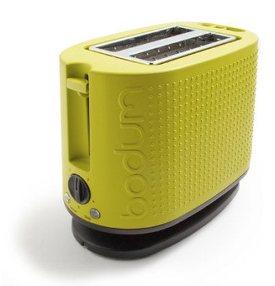 The Bodum Bistro Toaster Might Actually Bounce