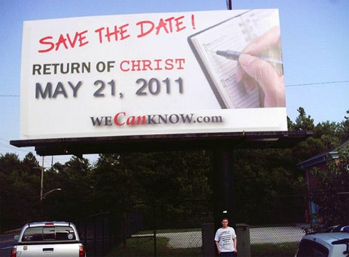 Save the Date: Jesus Is Coming in May!