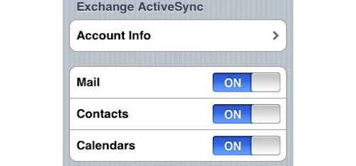Use Multiple Exchange Accounts on Your Jailbroken iPhone