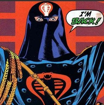 Cobra Commander's Face Not A Total Wash?