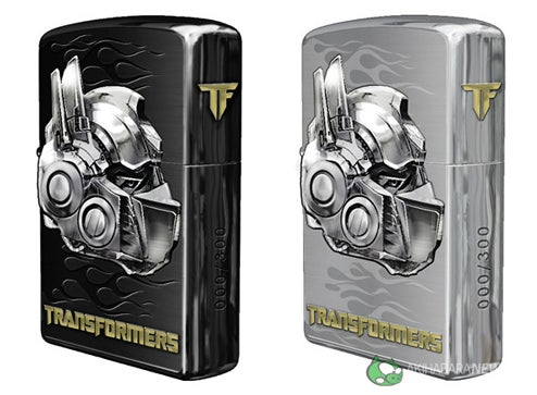 Transformers Zippo Lighter Makes Us Want to Smoke