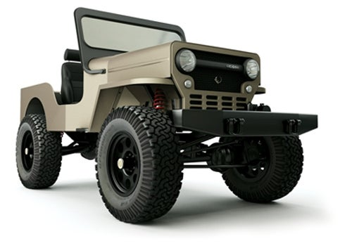 "ICON CJ3B: An Old School Off-Roading ""Dog"" With A Few New Tricks"