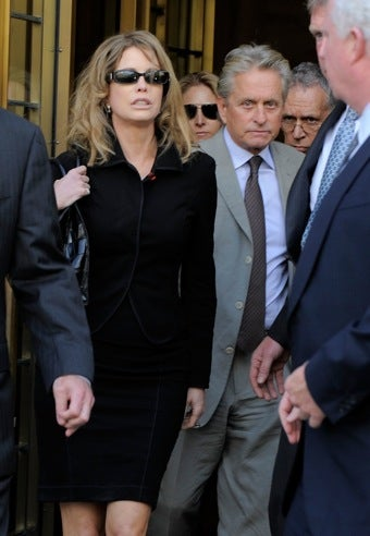 Michael Douglas Ex-Wife Tries to Get Wall Street 2 Money, Thinks Greed Is Good