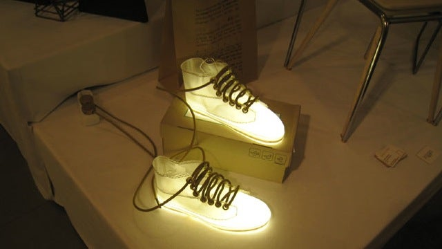 The Perfect Lamp for the Sneakerhead