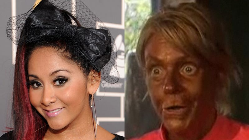 Snooki Calls Tan Mom a 'Crazy Bitch' While Offering Her First Bit of Parenting Advice