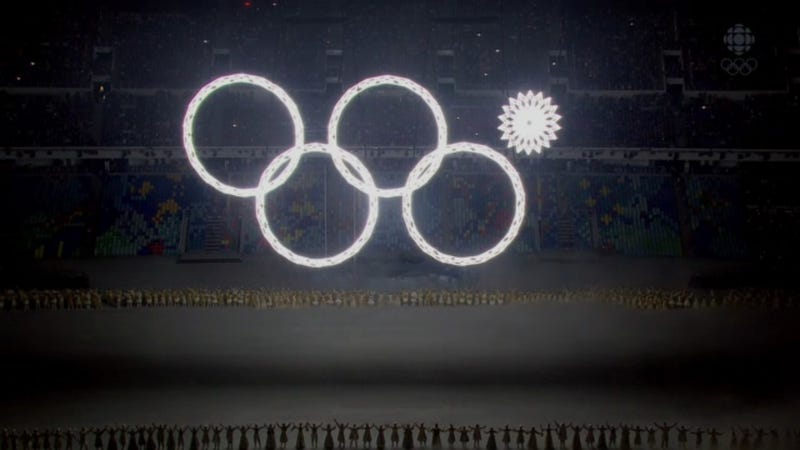 It Took 10 Minutes For The First Opening Ceremony Mistake To Occur