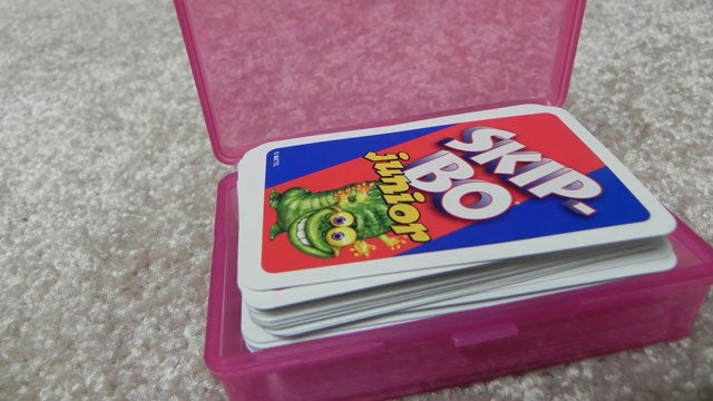 Keep Playing Cards Together with a Soap Box