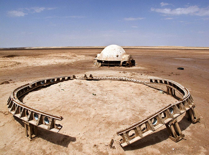 Photographer Finds Ruins Of Luke Skywalker's Original Desert Home
