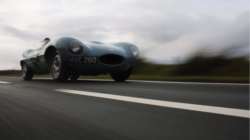 Watch This Jaguar D-Type Warm The Cockles Of Your Heart
