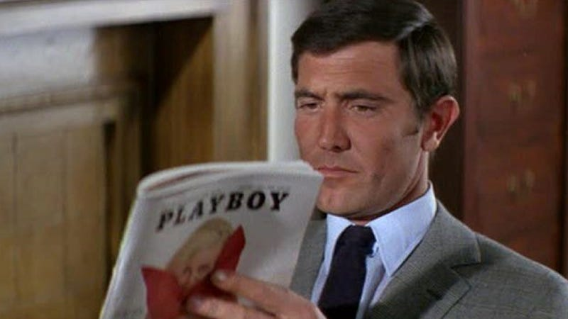 How big of a dose of radiation do you get when reading Playboy?
