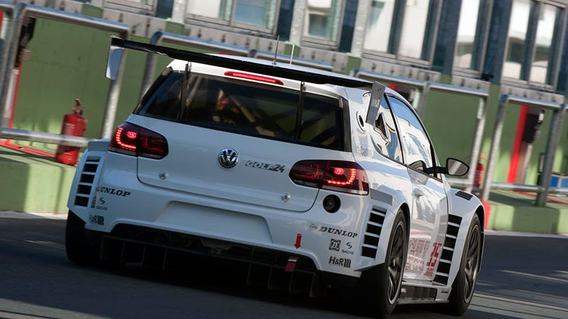VW's Golf24 tackles the 24 hours of Nürburgring