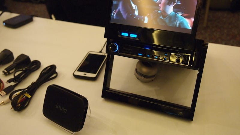 The Kivic One Is an Apple TV for Your Car
