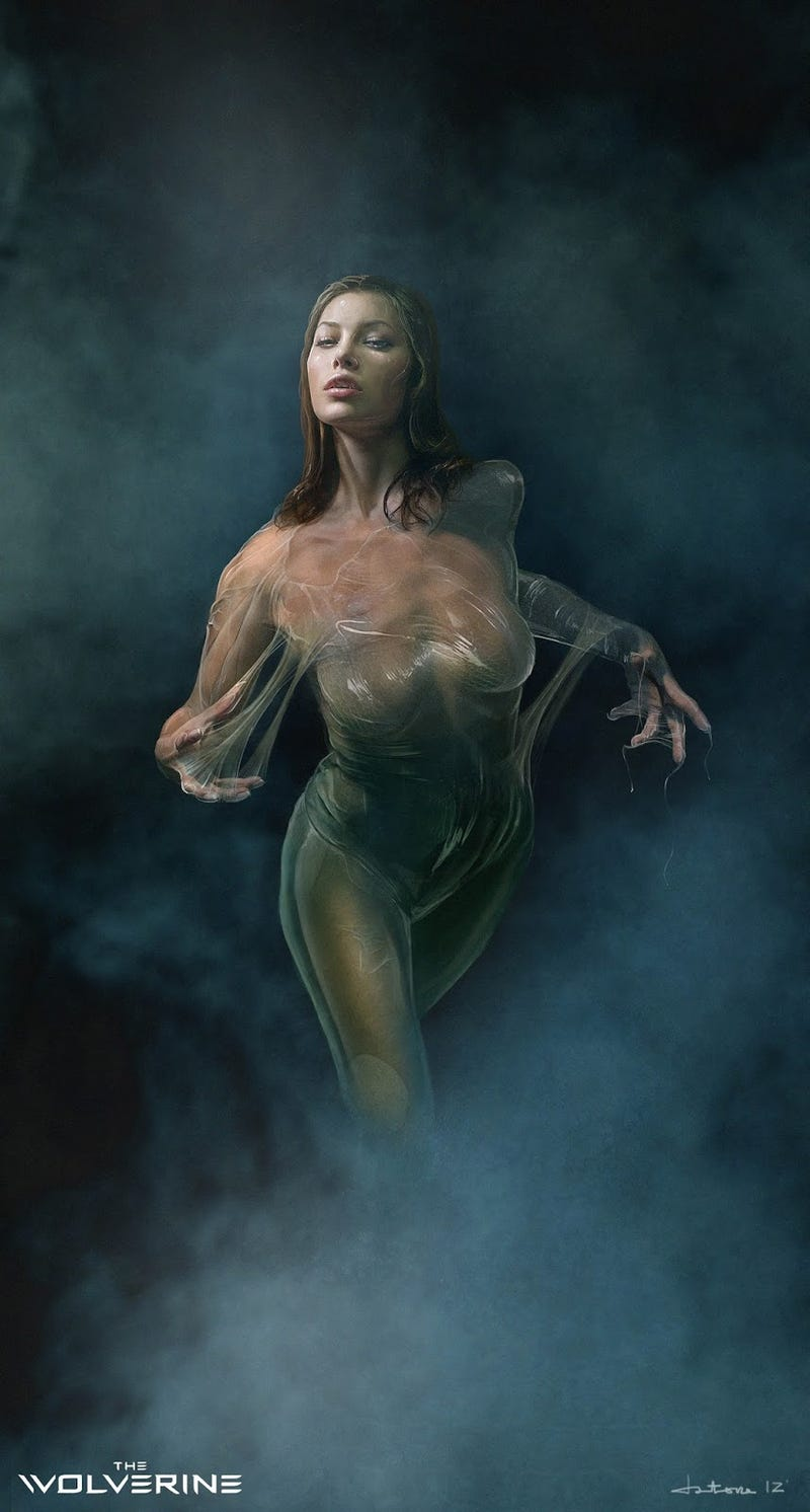 Wolverine concept art shows Viper could have been way more porntastic