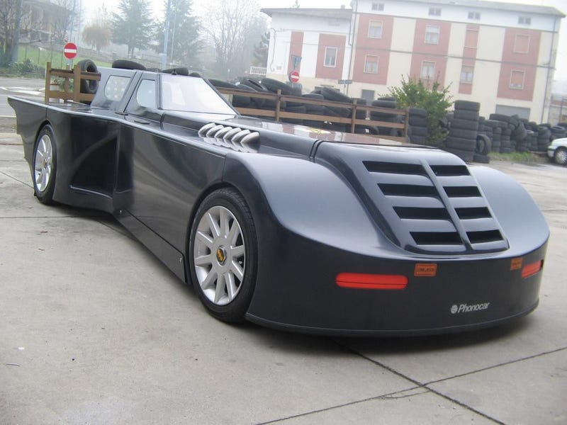 "real-life Batmobile from ""Batman: The Animated Series"""