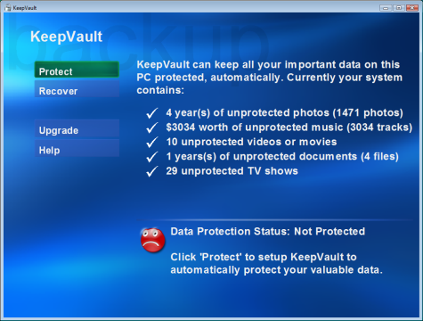Back up your media with KeepVault