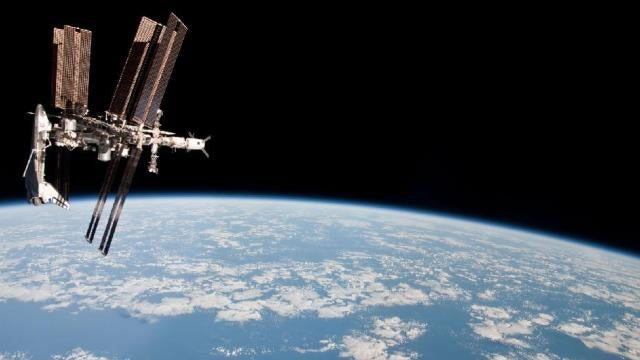 Listen to orbiting astronauts discuss our future robot overlords