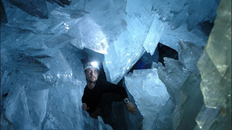 Grown naturally, Superman's Fortress of Solitude would have taken millions of years to erect
