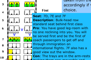 SeatExpert Finds the Best Seat on the Plane
