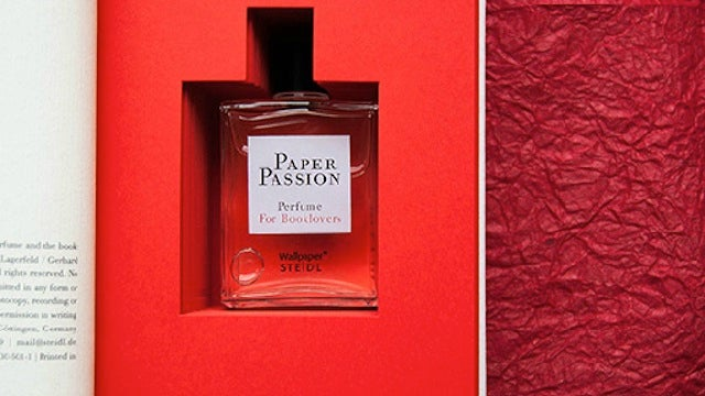 Spritz this perfume on your e-reader to make it smell like a paper book