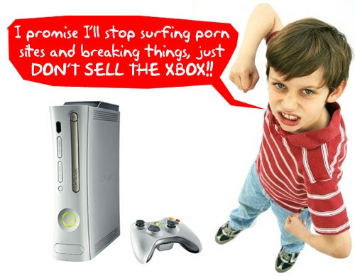 Kid Breaks Vacuum to Play Xbox Instead of Doing Chores; Mom Sells Xbox, Pranks His MySpace