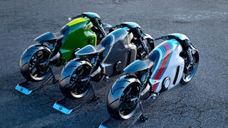 Dude that made them TRON bikes made this.