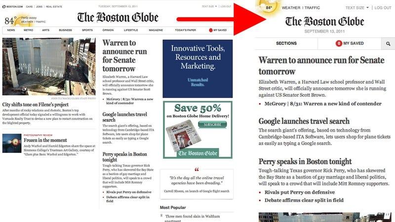 An Incredibly Smart Newspaper Website
