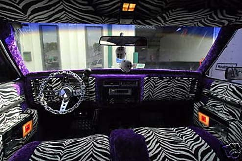 gangster whitewalls and zebra skin great deal on pimpish 39 84 cadillac. Black Bedroom Furniture Sets. Home Design Ideas