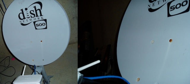 Use an old Satellite Dish as a Wi-Fi Range Booster